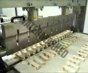 UCM - Ultrasonic cutting of nougat - Taglio torroncini ad ultrasuoni